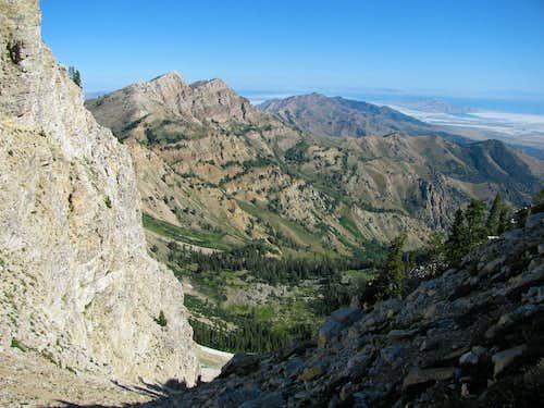 View north from Deseret Peak