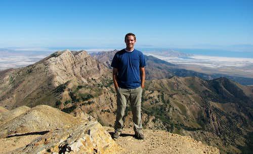 Deseret Peak summit pic