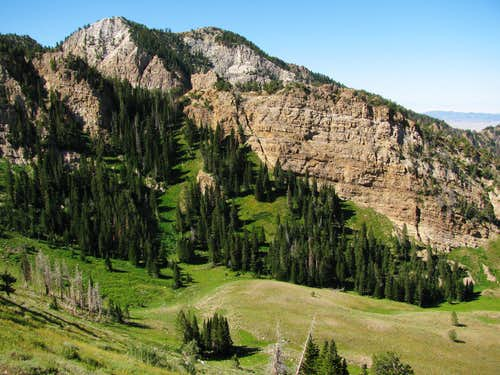 Basin northwest of Deseret peak