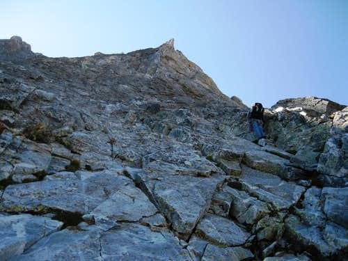 P3 of NW Buttress
