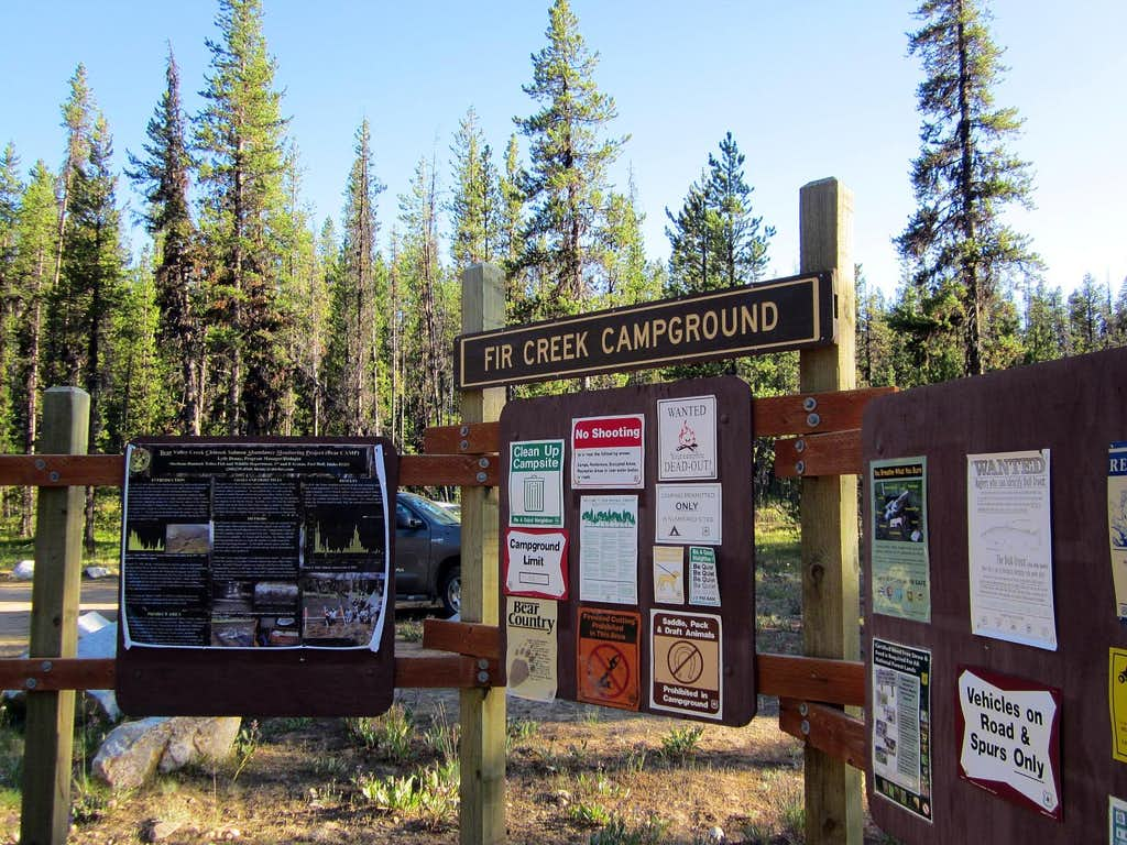 Fir Creek Campground