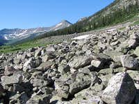 Boulder Field & Peak 13070 ft