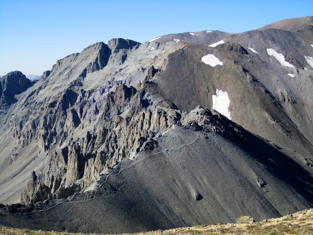 Trail on the ridge