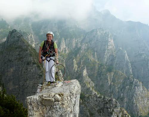Top of Campanile di Val Fontana d'Oro
