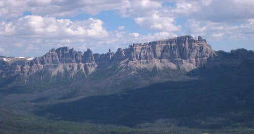 The Pinnacle Buttes