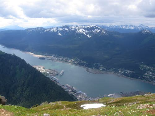 Looking Straight Down on Juneau