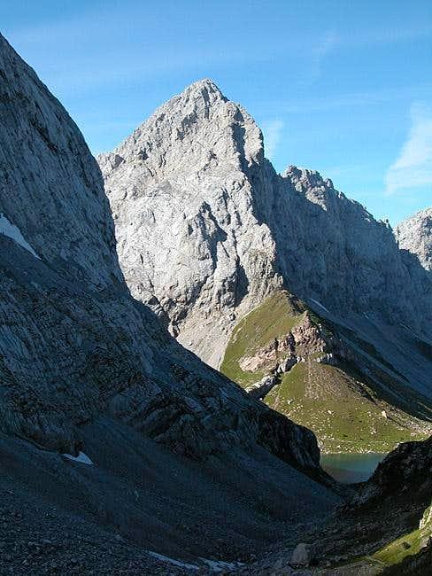Wolayer Seekopf as seen from...