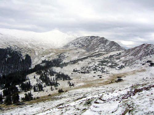 Wheeler Peak and La Cal Basin