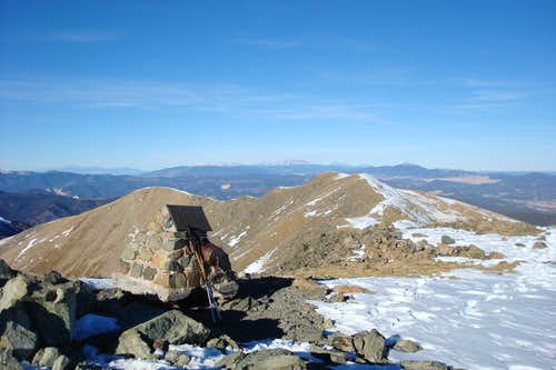 Summit of Wheeler Peak