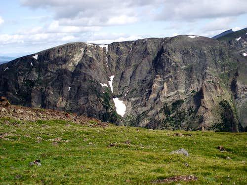 Mount Chapin from Sundance