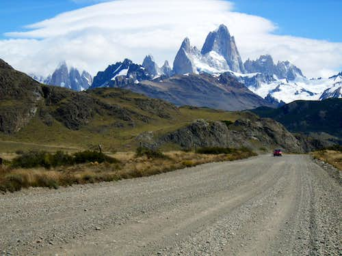On the way to El Chalten