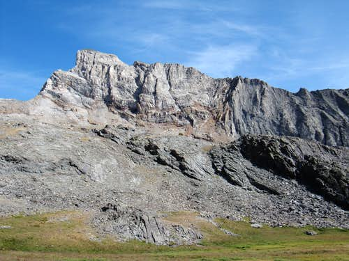 West face of Old Hyndman