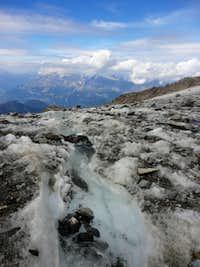 Glacier de Tete Rousse