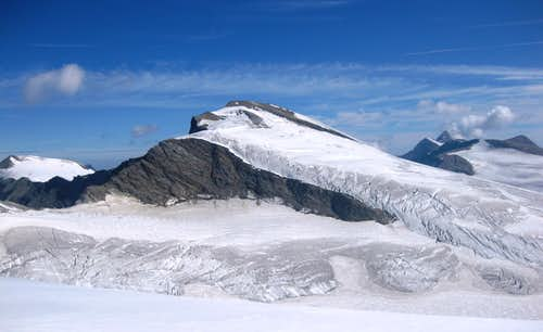 Johannisberg from the south, near the Schneewinkelscharte