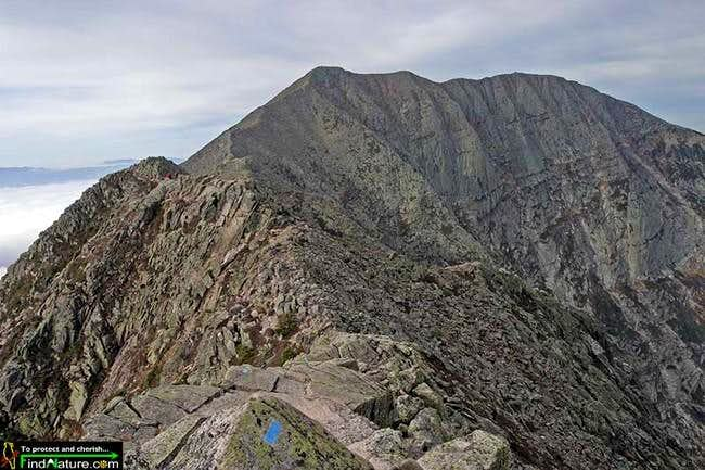 South Peak on Katahdin