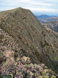 Baxter Peak (1606 mètres)...