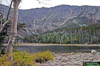 Vue sur le mont Katahdin à...