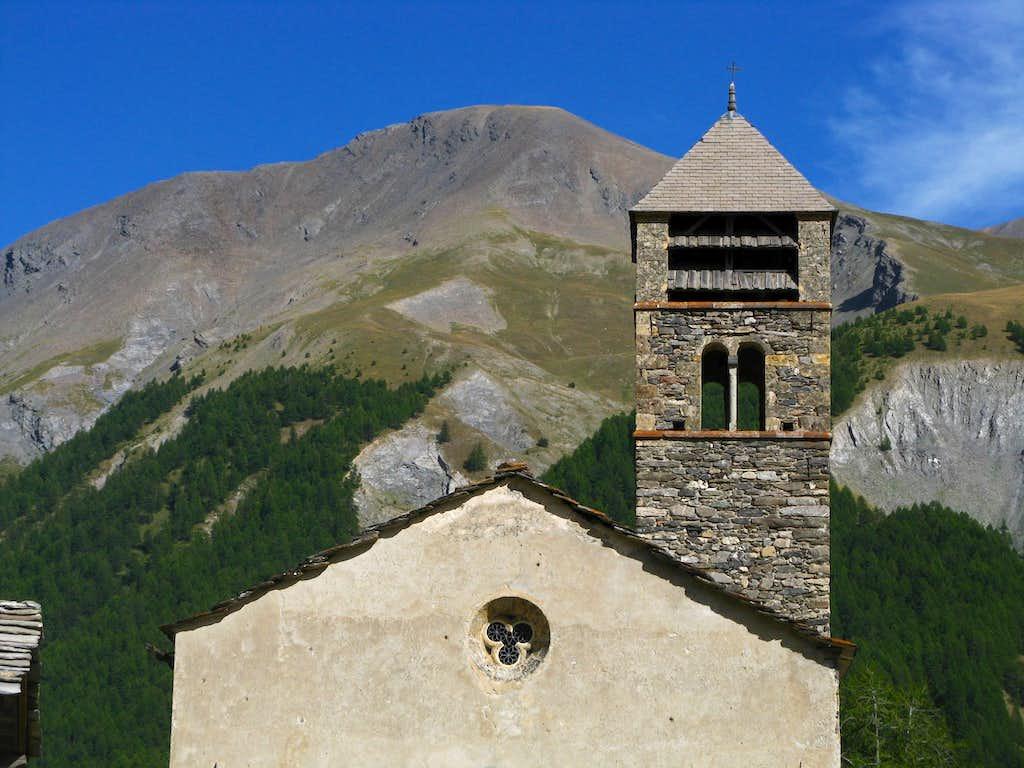 Maljasset ancient church