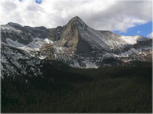 The gorgeous Tijeras Peak in...