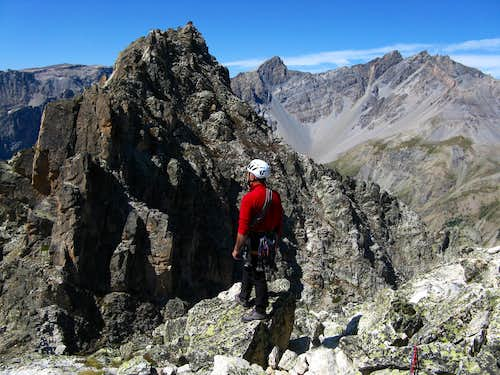 Aiguille Pierre Andrè - The summit