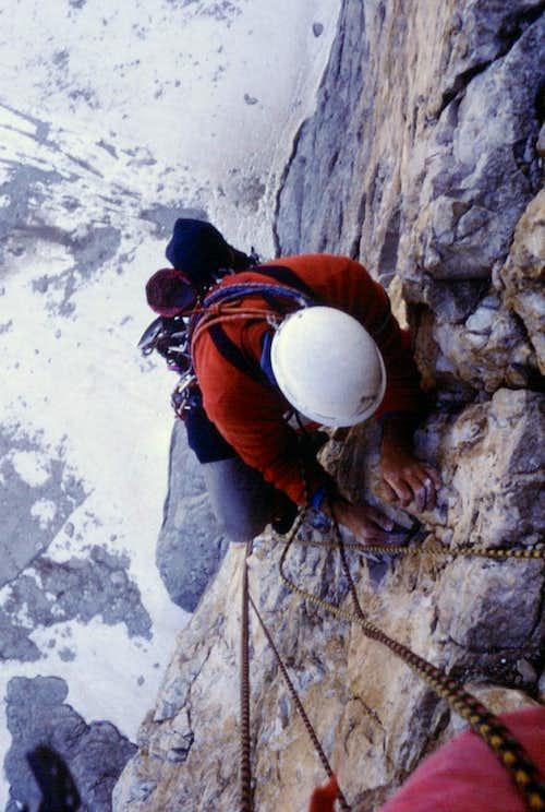 Cima Grande di Lavaredo North Face Comici-Dimai, 1985