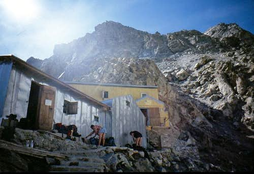 The Gonella hut.