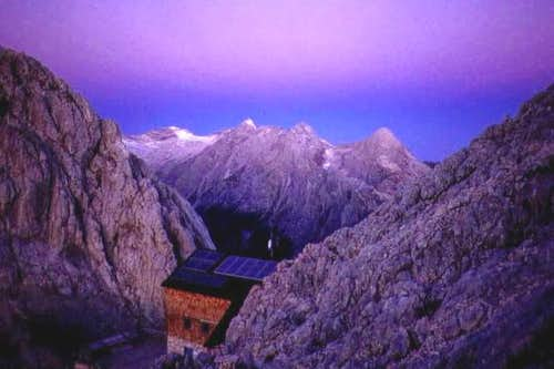 Meilerhütte from the foot of...