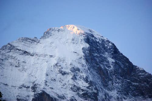 Eiger sunrise