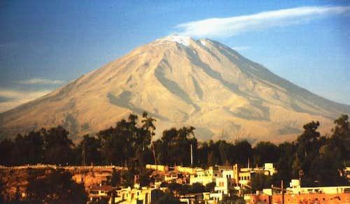 El Misti from Arequipa,...