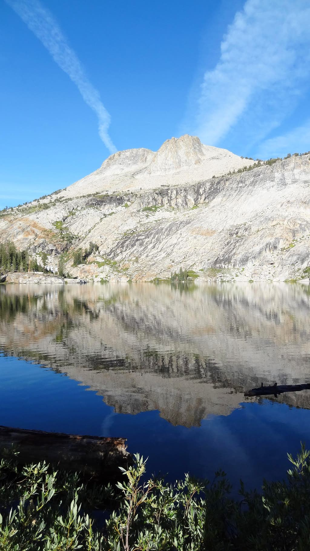 Mount Hoffmann and May Lake