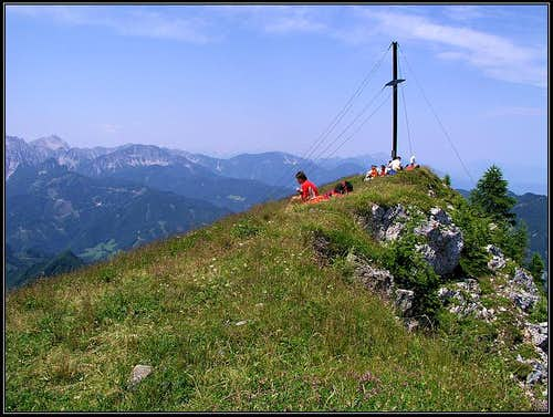 Ferlacher Horn / Grlovec summit