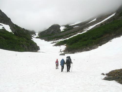 Towards the Chilkoot Pass