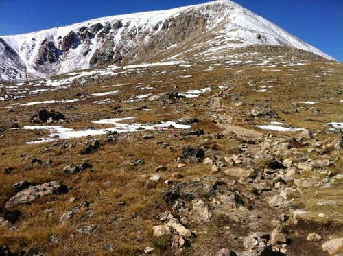 Mt Elbert hike 9/19/11