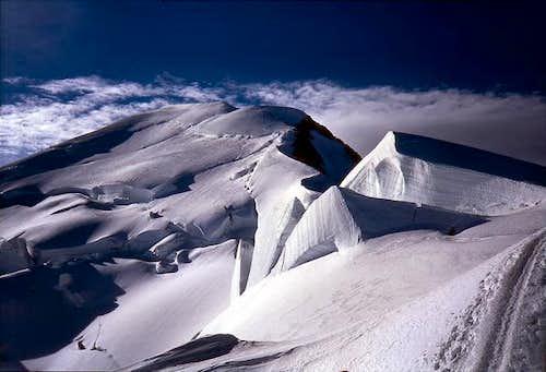 Mont Blanc summit when...