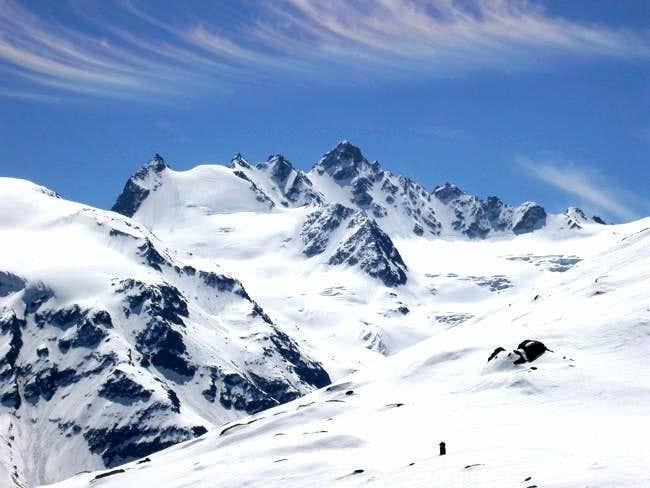 From left: Patrì glacier,...