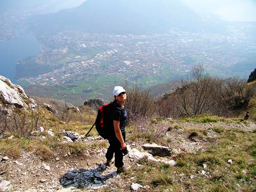 Moregallo. Normal route.