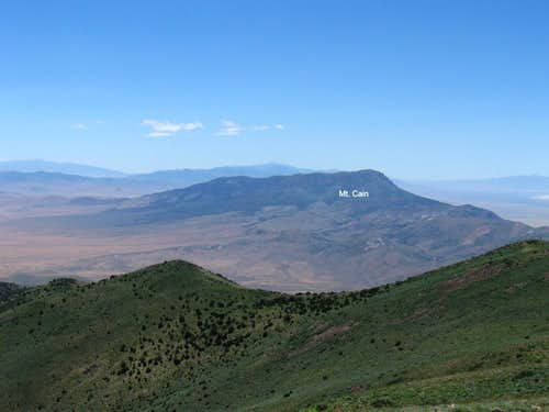 Looking south to Mt. Cain