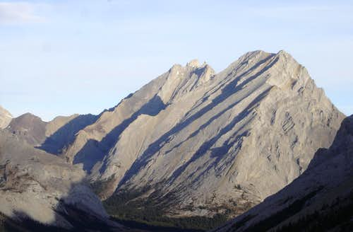 Tombstone Mountain (north and south)