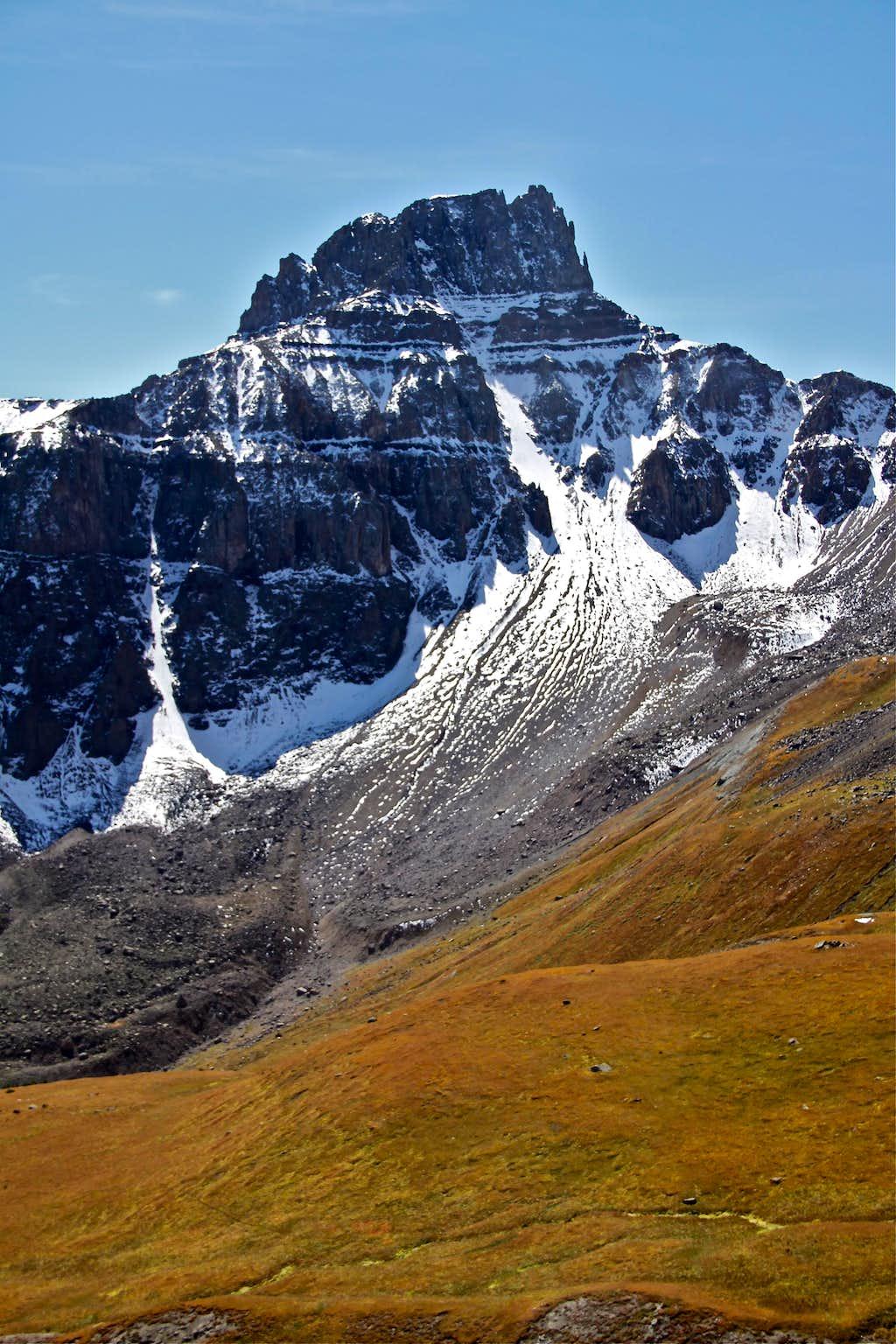 North Face of Potosi Peak