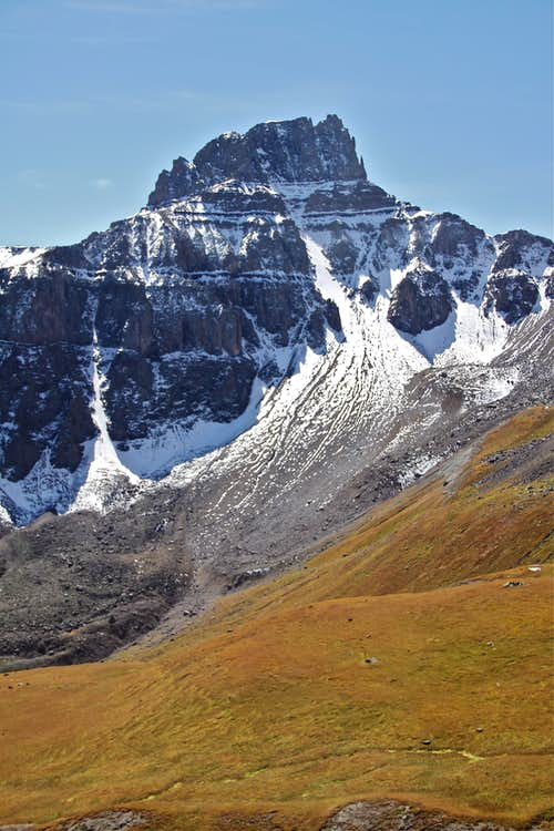 North Face of Potosi Peak