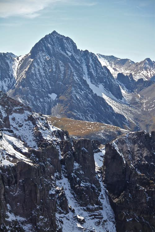 North face of Sneffels