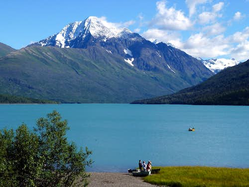 Eklutna Lake & Bold Peak