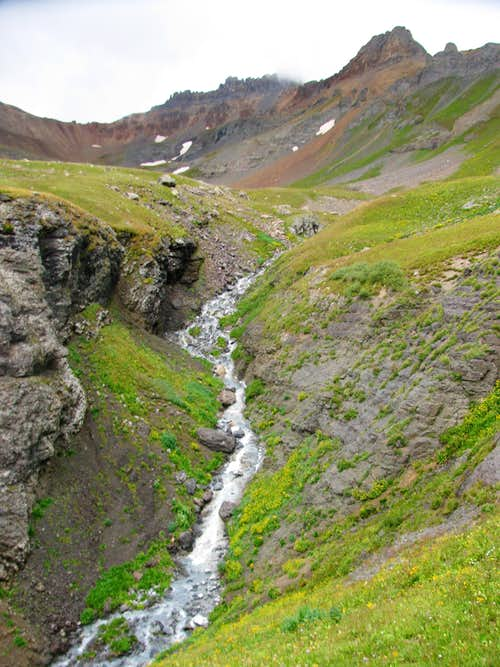 Ice Lake Basin Stream