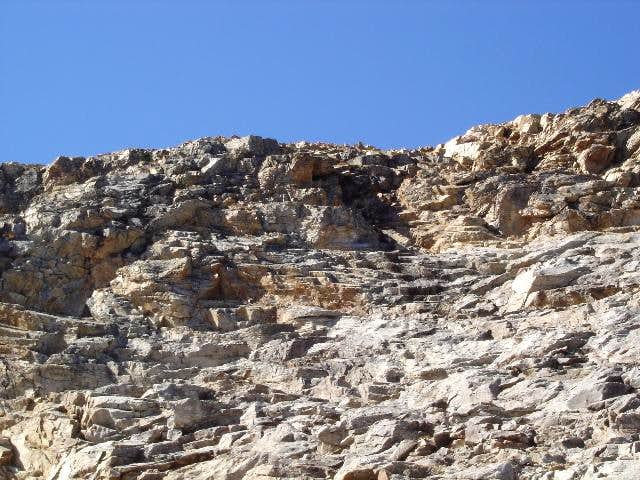 The Ruby Dome ledges from the...