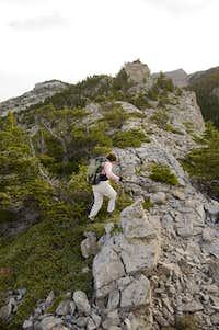 Sawtooth Ridge from West