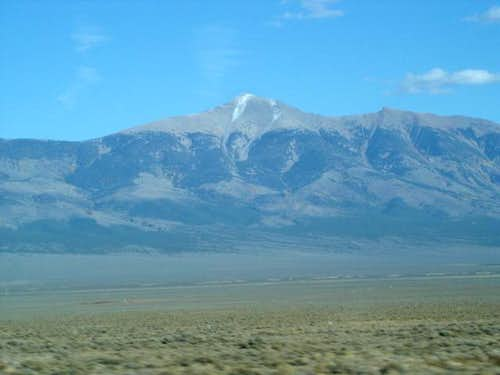 Wheeler peak at 70 MPH from...
