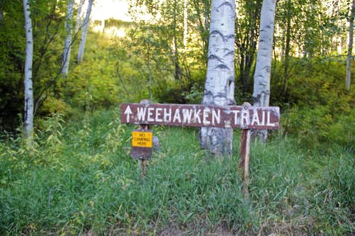 Weehawken Trailhead