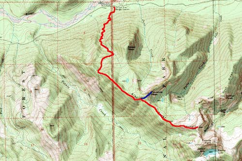Winter Route From Florence