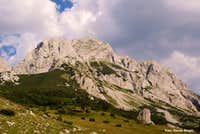 Maglic king of mountains in Bosnia and Herzegovina.