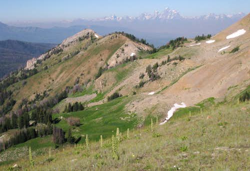 Spur and the Tetons